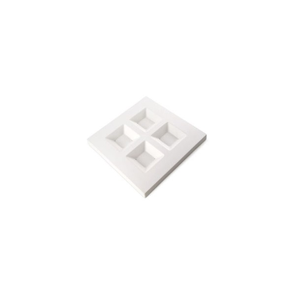 4 Soft Edge Square Platter