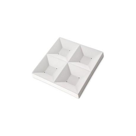 Four-Square Dish