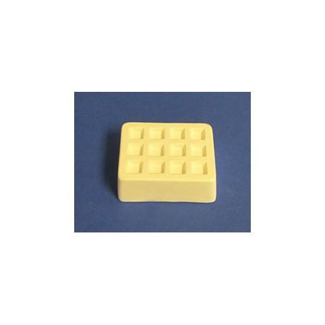 Super Size Mini Square Frit Mold (12)