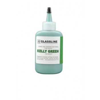 Kelly Green Glassine Paint