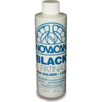Black Patina for Solder and Lead - 8oz