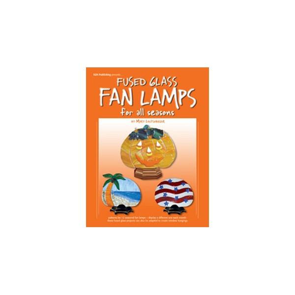 Fused Glass Fan Lamps