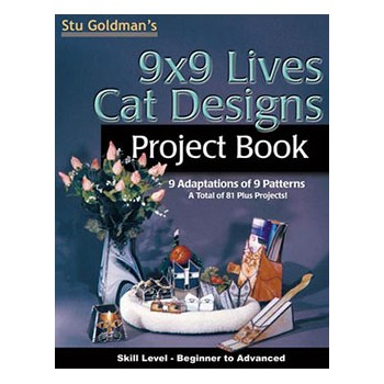 9 x 9 Lives Cat Designs Project Book