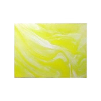 Northwest Art Glass Non-Fusible Sheet Glass, Verrerie de St. Just, Bariole Streakies