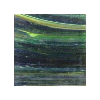 Northwest Art Glass Non-Fusible Sheet Glass, Wissmach, Mystic Series, Wisspy Opal