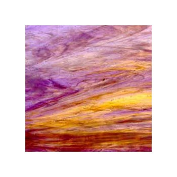 Northwest Art Glass Non-Fusible Sheet Glass, Wissmach, Mystic Series, Wisspy Opal