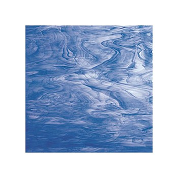 Northwest Art Glass Non-Fusible Sheet Glass, Spectrum, Opalescent, Semi-Transluscent Opalescent