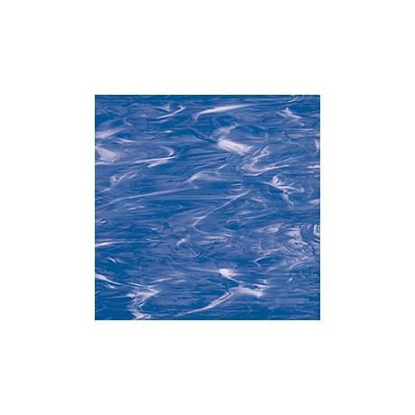 Lt Blue/White Wispy