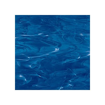 Northwest Art Glass Non-Fusible Sheet Glass, Spectrum, Opalescent, Wispy Opalescent