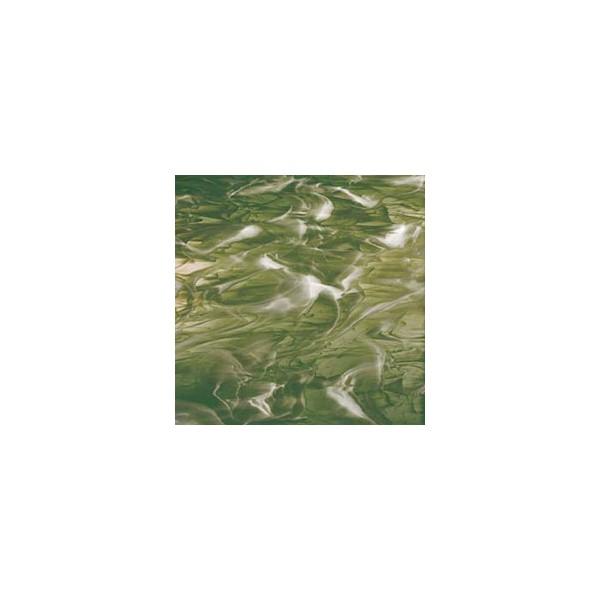 Northwest Art Glass Non-Fusible Sheet Glass, Spectrum, Opalescent, Wispy Opalescent