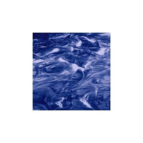 NavyBlue/White Wispy