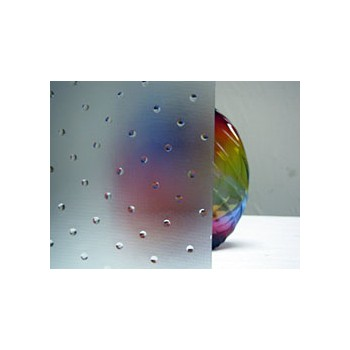 Northwest Art Glass Non-Fusible Sheet Glass, Oversized Clear Glass, Saint Gobain