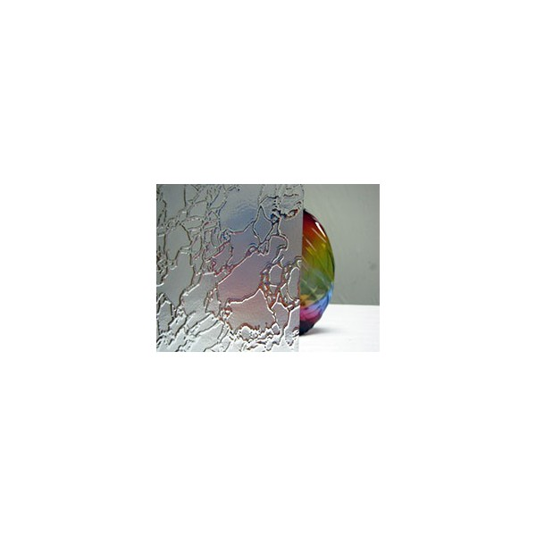 Northwest Art Glass Non-Fusible Sheet Glass, Oversized Clear Glass, Glaverbel