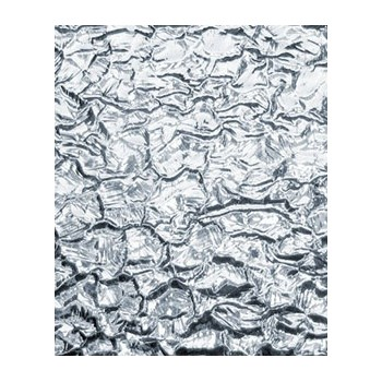 Northwest Art Glass Non-Fusible Sheet Glass, Kokomo, Clear Patterns