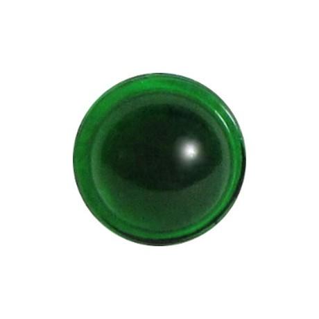 Emerald Green (Round Smooth) 14 mm
