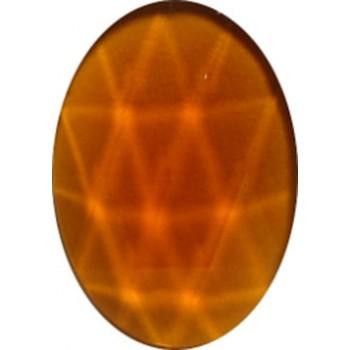 Bevels and Jewels, Jewels, Medium Amber, O25