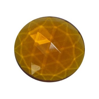 Bevels and Jewels, Jewels, Medium Amber, R35