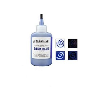 Dark Blue Glassline Paint