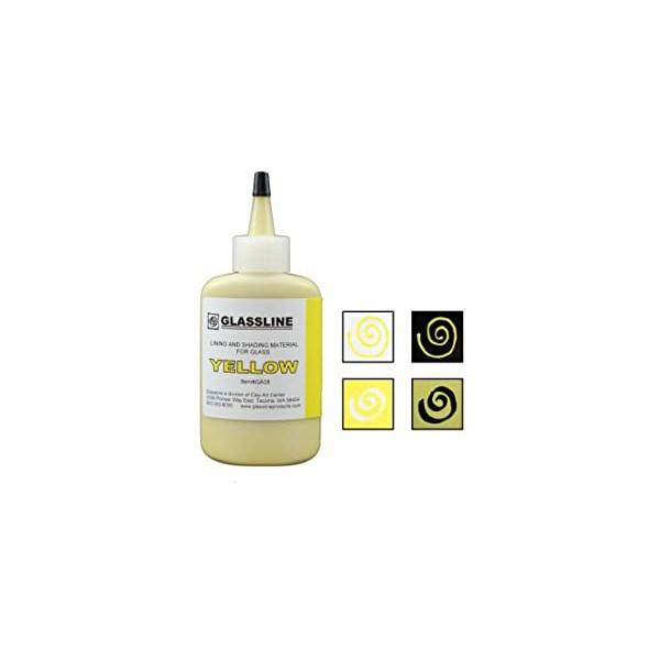 Yellow Glassline Paint