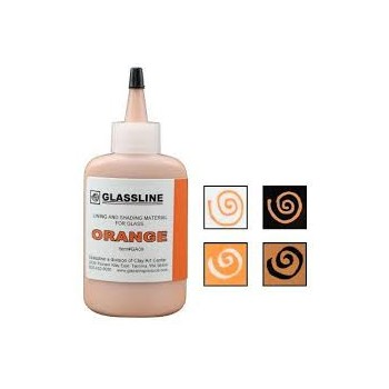 Orange Glassline Paint