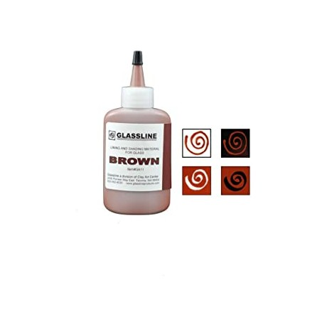 Brown Glassline Paint