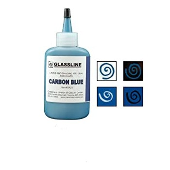 Carbon Blue Glassline Paint