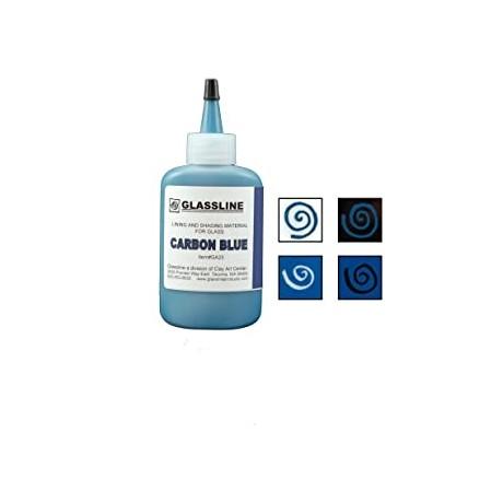 Carbon Blue Glassline Paint