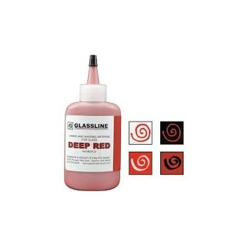 Deep Red Glassline Paint