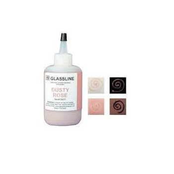 Dusty Rose Glassline Paint